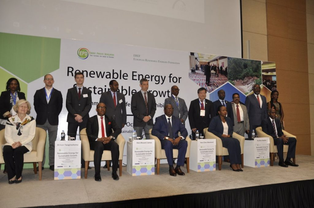 Renewable Energy for Sustainable Growth Matchmaking Conference dignitaries participants in a souvenir picture