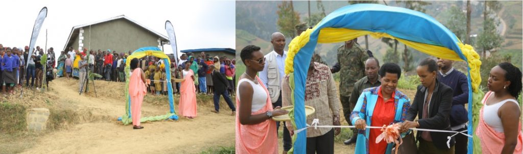RDB provides decent houses for 10 families that were previously involved in illegal activities within and around Nyungwe National Park