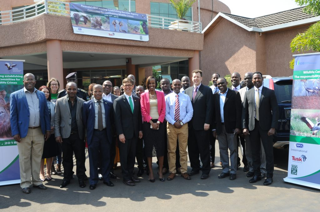 Stakeholders in conservation after consultation on combating wildlife traficking