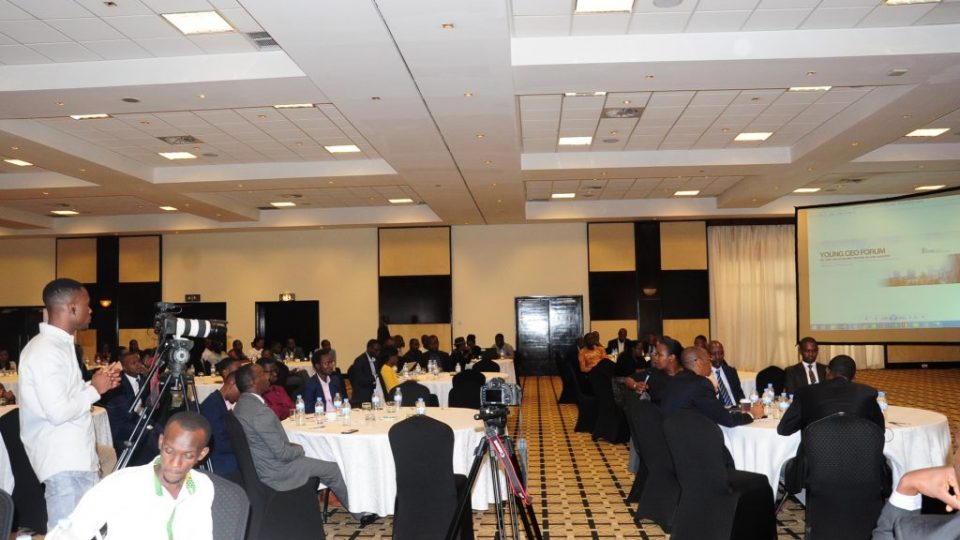 Young entrepreneurs convened for the inaugural Young CEOs Forum in Kigali