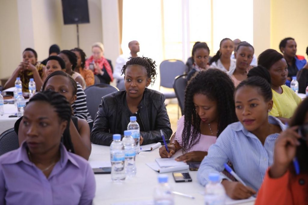 100 Rwandan women are expected to benefit from the three day training exercise in hospitality excellence